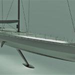 Парусник Club Swan-125 получил интерьеры от А. Монка